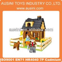 farmland new building block educational toys 2012