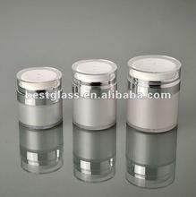 15/30/50g cosmetic milky acrylic jar