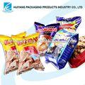 caliente la venta de alimentos de plástico de embalaje bolsa para las patatas fritas de galletas