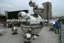 stainless steel garden decoration sphere/ball.hollow sphere