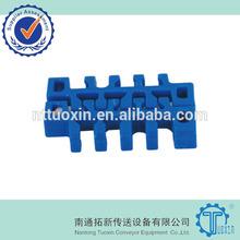 1100 Flush Grid 50.8mm Width Plastic Modular Conveyor Belt