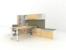 Clear Style Melamine Home Office Furniture