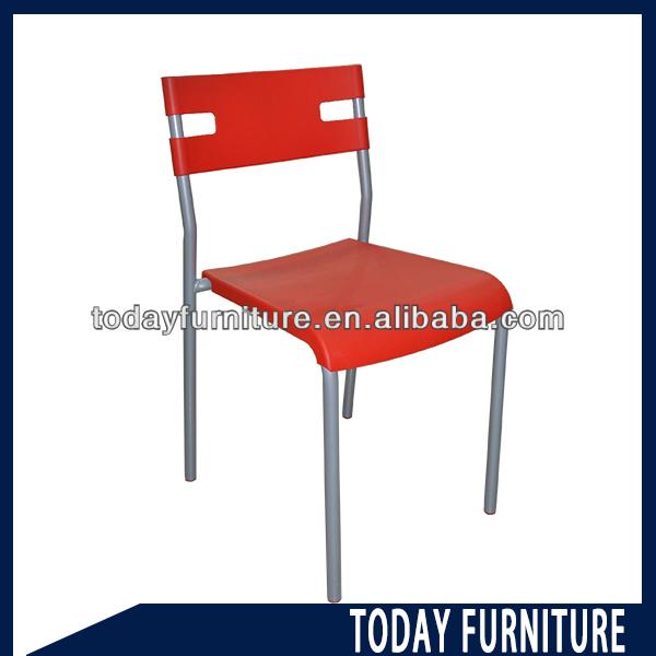 Plastic chair with metal legs dc825 buy plastic chair modern plastic