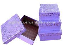 2014 Fashion customized foldable paper storage box