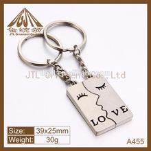New Design metal engraving key chain