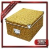 New patterned cardboard storage boxes export