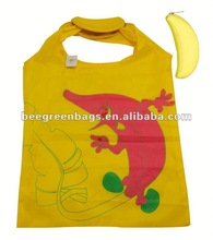 Banana foldable fruit tote bags