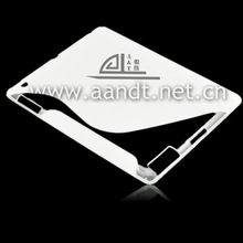 hot transparent white ripple tpu case for ipad