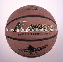 Indoor leather basketballs