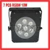 HOT!!!7pcs 4 in1 RGB 10W led wedding lighting (WLP-16-3)