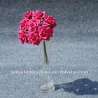 PE Foam Rose Wedding Flower Arrangement ,Artificial Foam Flower