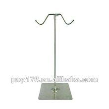 Wholesale Adjustable Metal Handbag Stand Double Sides Display