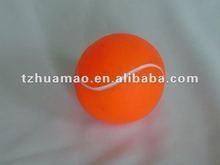 Vinylquietschender Tennishundespielzeug-Kugelbehälter