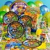 cartoon series happy monkey themes/party sets
