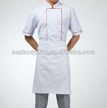 100% spun polyester chef uniforms for USA market