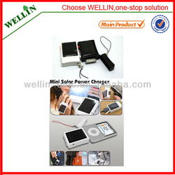 50g only! Newest Portable Phone emergency mini solar charger/phone solar charger/mobile solar charger