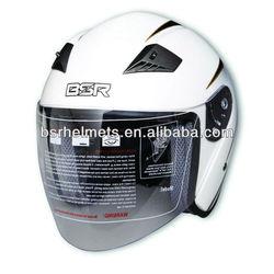 Fiberglass open face motorcycle helmet ROF-2