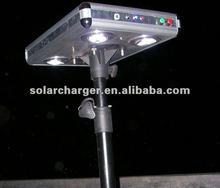 10W solar led light for garden