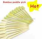 disposable flat bamboo gun sticks