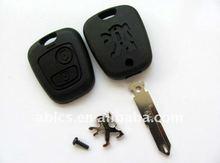 yuyao abluo peugeot 206 2 chiave pulsante del telecomando chiave con ne73 lama
