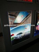 wall mounted aluminum advertising led poster light box