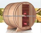 new design 4-6 persons outdoor barrel sauna