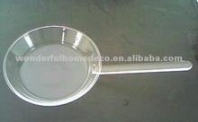 heat resistant borosilicate glass pan
