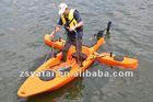 *Plastic Single Fishing Kayak WINIX / Canoe with 40lbs motor