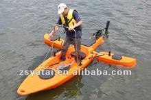* Plastique de pêche unique Kayak WINIX / canoë avec 40lbs moteur