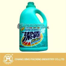 pvc shrink sleeve label for cleaning liquid bottle