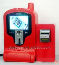 Tres de pago de carga Kiosk para teléfonos móviles