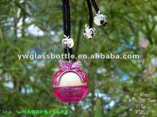 Lovely apple shape Hanging Car perfume bottle/ air freshner Pink online