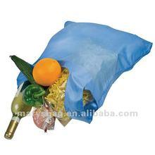 nylon folding shopper in pouch with clip
