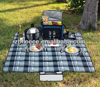 pile coperta da picnic impermeabile