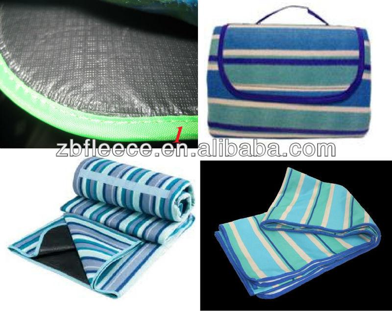 ขนแกะผ้าห่มปิกนิกกันน้ำ