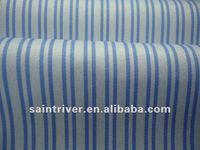 1519 Blue and White Yarn dyed stripe shirt fabric