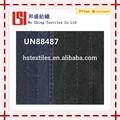 ( un88487) de algodón de punto dobby tramo de mezclilla tela stock pantalones vaqueros