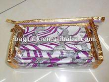 Three-piece Clear Vinyl Cosmetic Bag