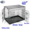 """48"""" Large Wire Folding Dog Crates"""