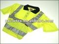Fluorescente industriale tuta tuta, sicurezza uniforme woking, tuta cvc ( oem ) 32/2*12