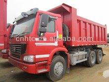 Sinotruk howo 6x4 lorry tipper truck