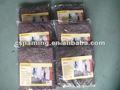 La alfombra del hotel/de fieltro de lana negro tela/fiberfor de lana de la decoración de interiores/esteras/alfombrillas de pintura
