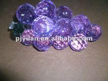 Beleza cristal cluster uva cristal roxo uva