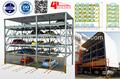 Cinco- deck lateralmente- móveis e de elevação tipo/puzzle estacionamento garagem equipamentos/cinco- deck carro automático estacionamento garagem