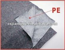 waterproof paint outdoor fabric/carpet padding/polypropylene felt needle punch nonwoven fabric