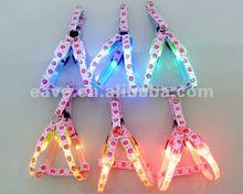 Nylon Super Light LED Flashing Dog Harness LED043