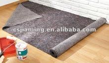 woven floor mats/drop cloth/floor protection felt