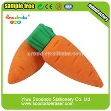 Fancy vegetables 3D eraser for children