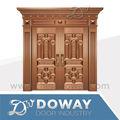 foto real luxurimite cobre porta de entrada design