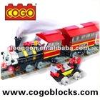 COGO Plastic Building Blocks Toy Train educational games